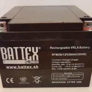BATTEX 6FM28 | Olovené akumulátory BATTEX