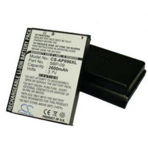 Asus MyPal A626/A696/A686 Li-ion 3.7V 2600mAh | Batéria pre PDA