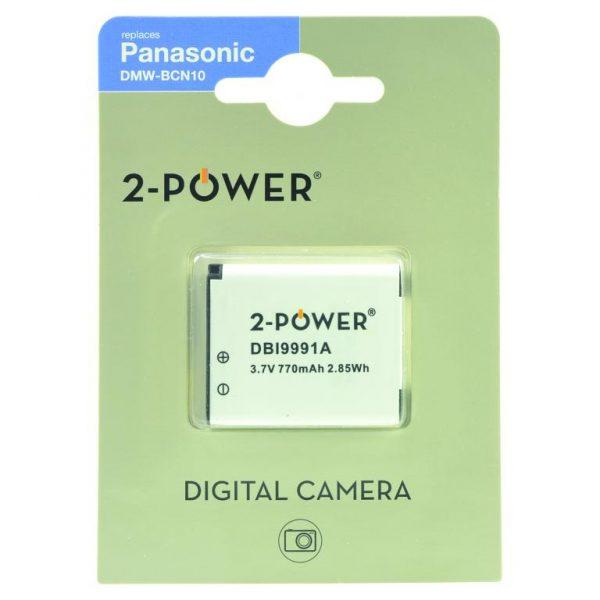 Batéria do fotoaparátu Replaces Panasonic DMW-BCN10