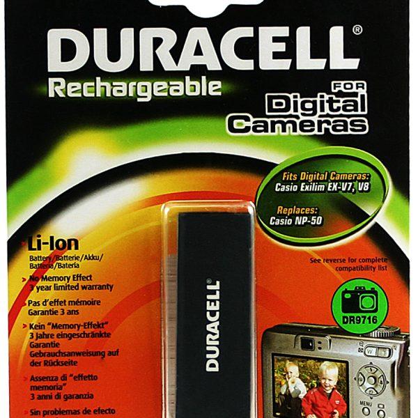 Batéria do fotoaparátu Replaces Casio NP-50