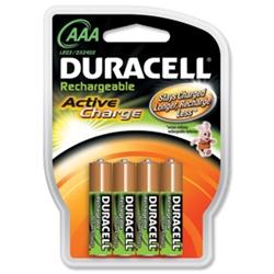 Duracell Active Charge AAA NiMh 800 | Prednabité akumulátory