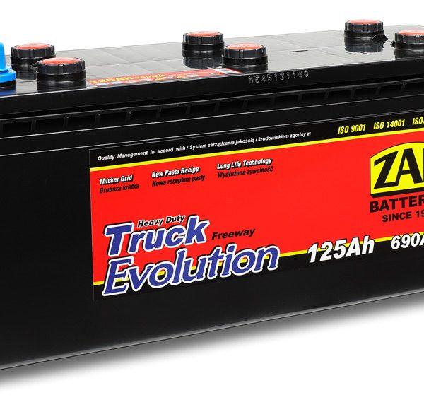 ZAP 12V/125Ah S | Autobatérie