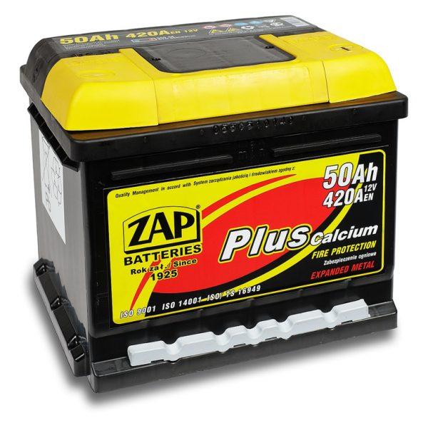 ZAP 12V/50Ah | Autobatérie