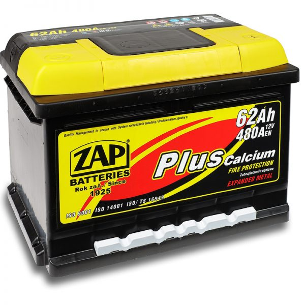 ZAP 12V/62Ah | Autobatérie