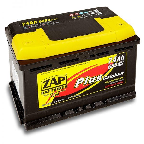 ZAP 12V/74Ah | Autobatérie